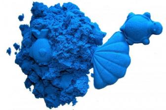 Kinetický písek 1kg - modrý