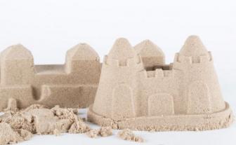 Kinetický písek 1kg přírodní