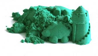 Kinetický písek 2kg - zelený
