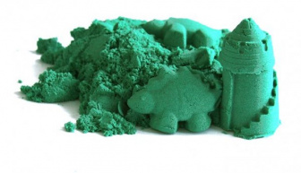 Kinetický písek 3kg - zelený