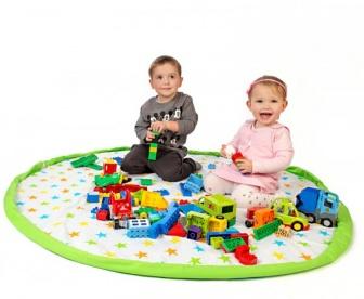 Hrací deka-vak na hračky 130cm vzor 3
