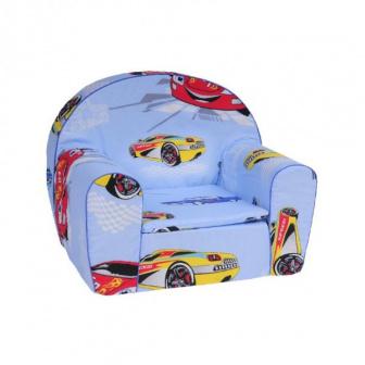 Dětské křesílko auto modré