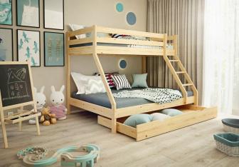 Patrová postel Denis + rošty