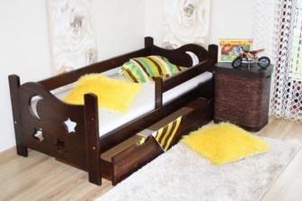 Šuplík pod postel 160 cm ořech