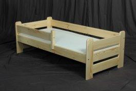 Dětská postel Kouba 160x80 cm + matrace - masiv borovice