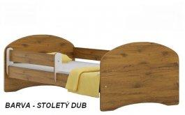 Postel Nela N20 180/90 cm + matrace stoletý dub