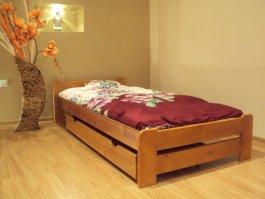 Šuplík pod postel 150 cm olše