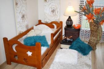 Šuplík pod postel 160 cm olše