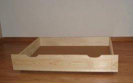 Zvýšený šuplík pod postel 200 cm