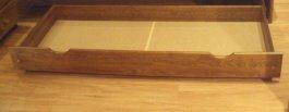 Zvýšený šuplík pod postel 200 cm dub