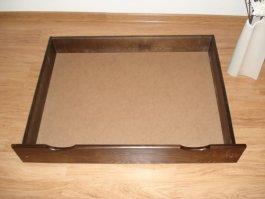 Šuplík pod postel 200 cm ořech