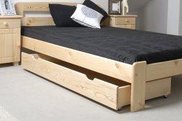 Šuplík pod postel 160 cm borovice