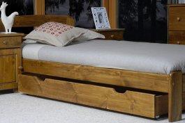 Šuplík pod postel 150 cm dub