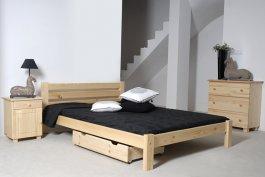 Šuplík pod postel 98 cm borovice
