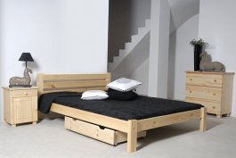 Zvýšený šuplík pod postel 98 cm