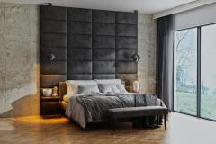 Nástěnné čalouněné panely