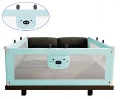 Bezpečnostní zábrany na postel